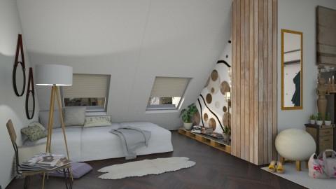 M_ Attic - Bedroom  - by milyca8