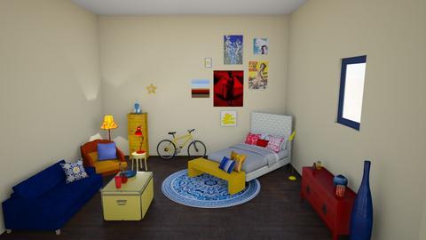 primary - Bedroom - by maddieameek