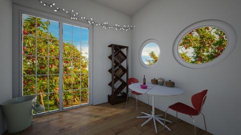 apple room  - Living room  - by bradenbranine
