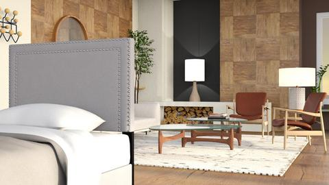 Same Dream - Rustic - Bedroom  - by raminazmi7