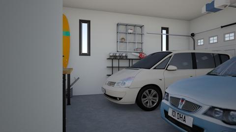2 Car Garage - by poseycat
