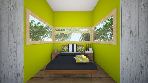 Green living - Minimal - Bedroom - by sokolaadipisar
