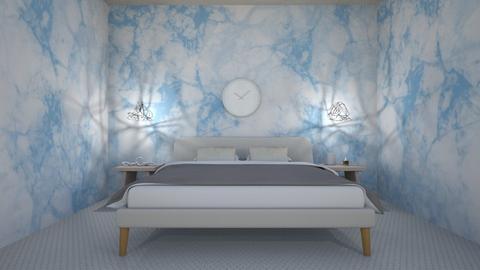 Blue - Bedroom - by massa_camila