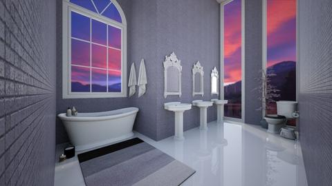 Lavendar Bathroom - Modern - Bathroom  - by MearStyle