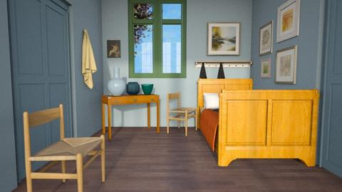 Van Gogh Bedroom - Bedroom  - by MiaM