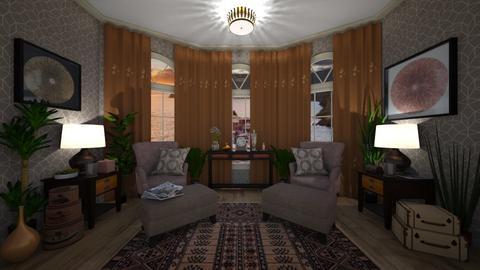 Vintage Sitting RM - Vintage - Living room - by Irishrose58