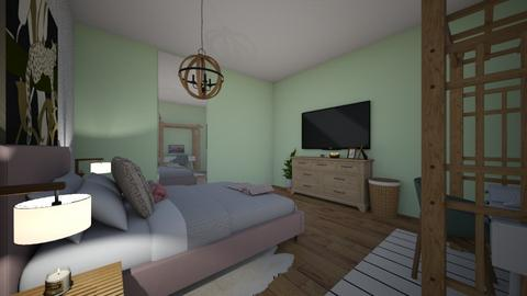 j - Modern - Bedroom  - by med095