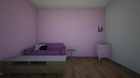 the pink living room - Vintage - Living room  - by 11jears