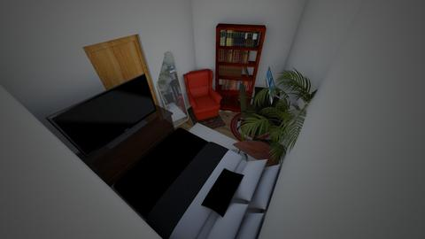 new room 2 - Minimal - Bedroom  - by Hake97