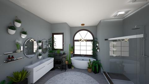 Urban Jungle Bathroom - Bathroom - by awhite946