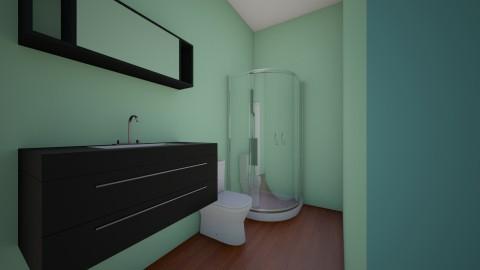 Joes ideal - Minimal - Bathroom  - by bambii28