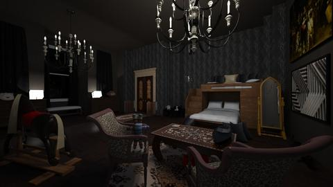 alone in my desolate r - Classic - Bedroom - by emmie314