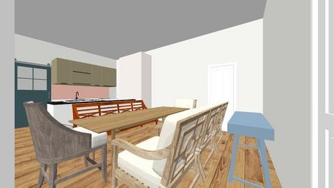 keuken gans - Rustic - Kitchen  - by Audreywebdesign