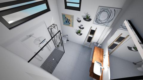 Dream Virtual space - Bathroom  - by amako