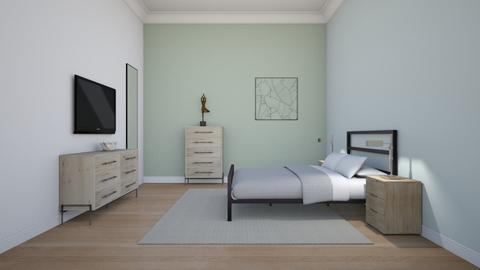 guest bedroom - Modern - Bedroom  - by rcrites457