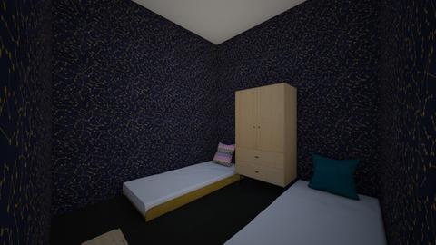 kamar  - Bedroom  - by revanalbadrad