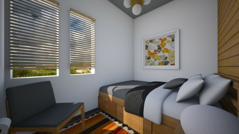 Summer Retreat IV - Eclectic - Bedroom - by Theadora