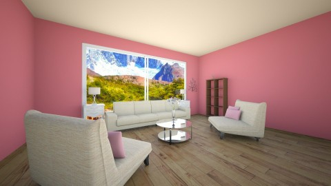 Living - Living room - by Julieisawesome