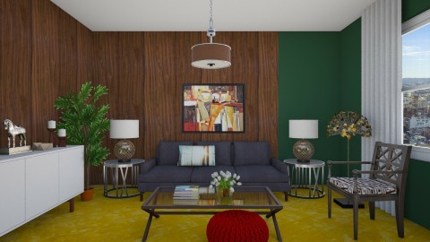 Movie Set Living - Vintage - Living room  - by 3rdfloor