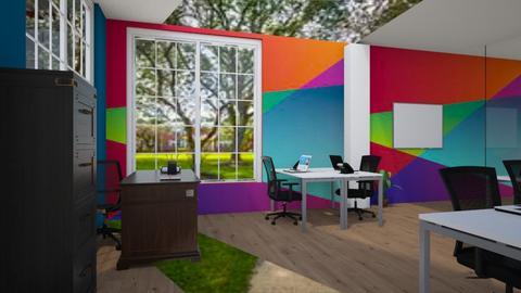 Backyard view 3 - Office  - by Bwogyi