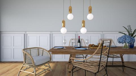Scandinavian dining - Modern - Dining room  - by donella