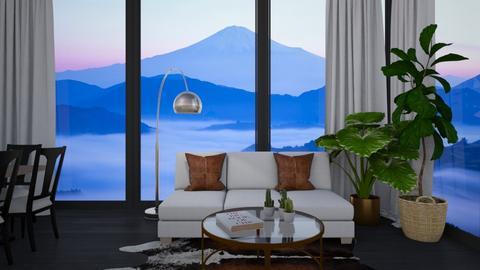 Minimal Living - Living room  - by lilyamc