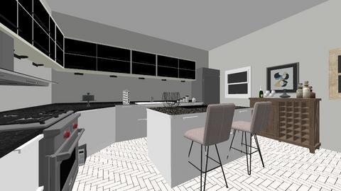 modern Kitchen  - Kitchen  - by lolakasischke