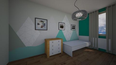 Iwaszkiewicza_Olawa_Just3 - Kids room  - by mbanikzakupy