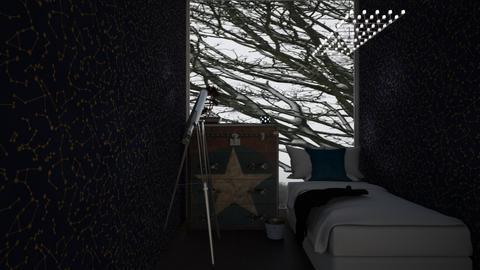 Shooting stars  - Kids room  - by Doraisthe_nameofmydoggo12345
