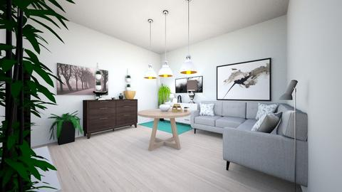 living room for class  - Modern - Living room  - by I like hot co co