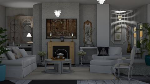 Shabby Chic Living    - Modern - Living room  - by Sue Bonstra