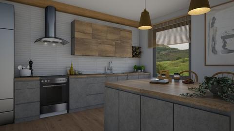 New kitchen - Kitchen  - by Thrud45