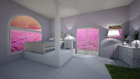 lavender bed - Bathroom  - by SadieRose