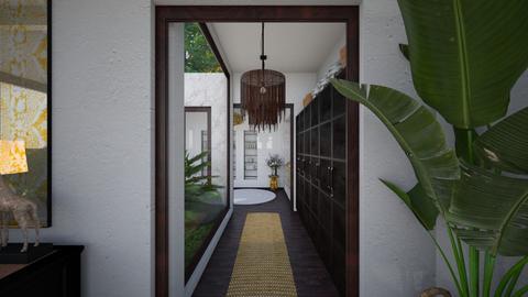 Guest Corridor View 2 - Garden  - by Fofinha