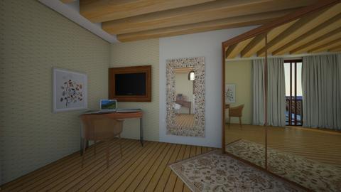 Quarto  - Bedroom  - by breginallima