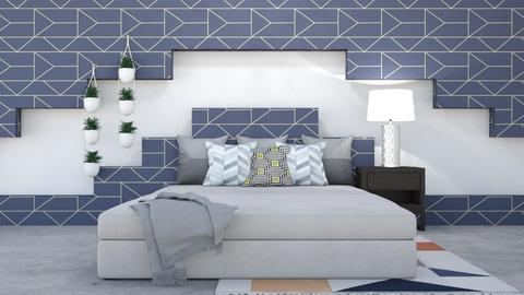 Geometric - Bedroom  - by ZolaKate