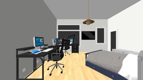 MY DREAM ROOM 2 - Modern - Bedroom  - by JanManyanet1