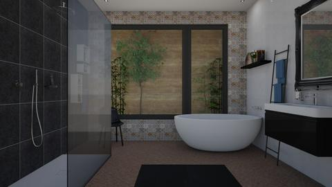 Modern Bathroom - Bathroom - by Danielle_ML