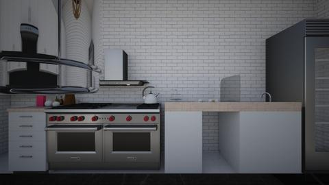 Cooking for days - Modern - Kitchen - by rmoral9662
