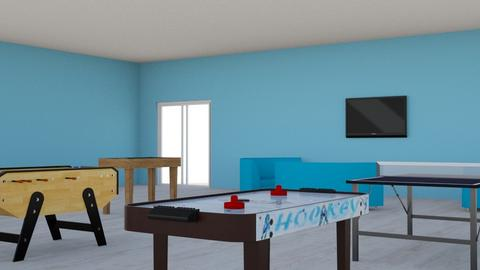 Game Room - Modern - by lulucook128