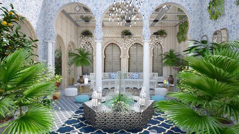 M_ Riad - Garden  - by milyca8