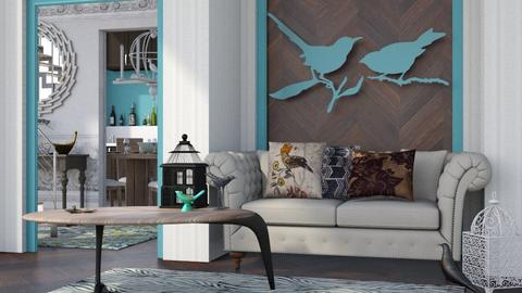 Bird - Modern - Living room  - by Gurns