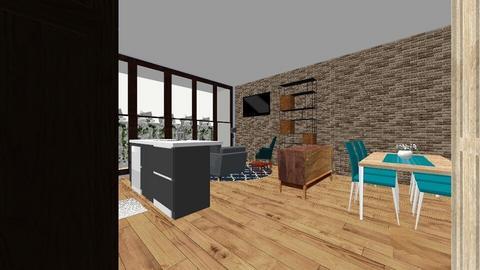 Haypark 2 no cloakroom - Kitchen  - by RoisinO