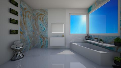 Luxury Bath - by KierraClumdesign