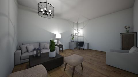 Comfy home office  - Modern - Office  - by moode4250