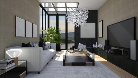 551 - Modern - Living room  - by Claudia Correia