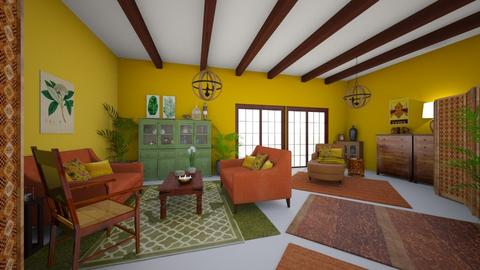 Taste of India - Living room  - by LixieG