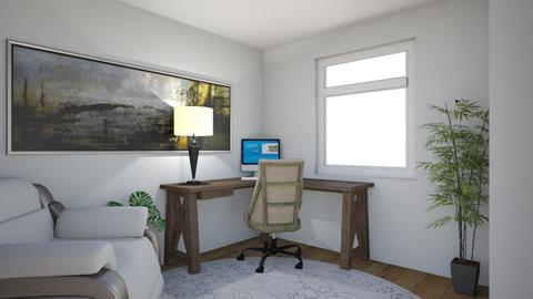 Wall 1 - Office - by Rachelrivero