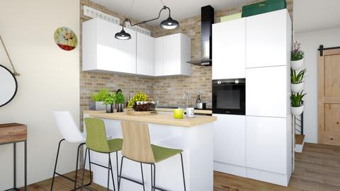 segmentA kitchen - Kitchen - by ewcia3666