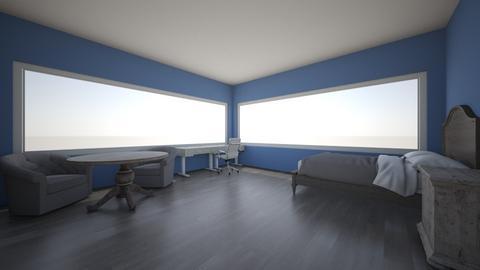 room  - Glamour - Bedroom  - by sophidiro